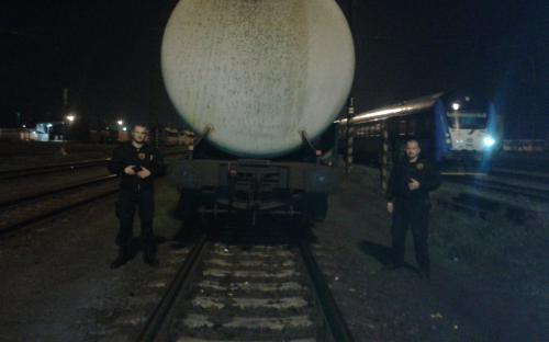 Ostraha železnice